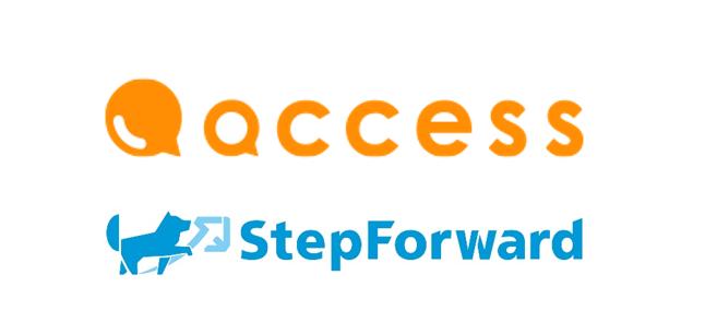 ステップフォワード株式会社と認定NPO法人アクセスがパートナーシップを締結